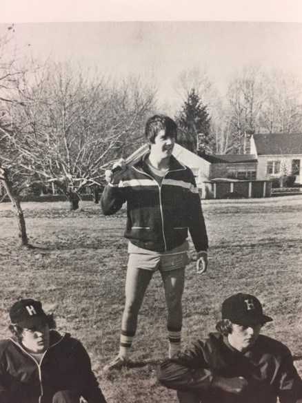 Photo of the 1977 Baseball team.