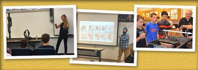 Photos of the HELPWELL VOLUNTEER PROGRAM activities.