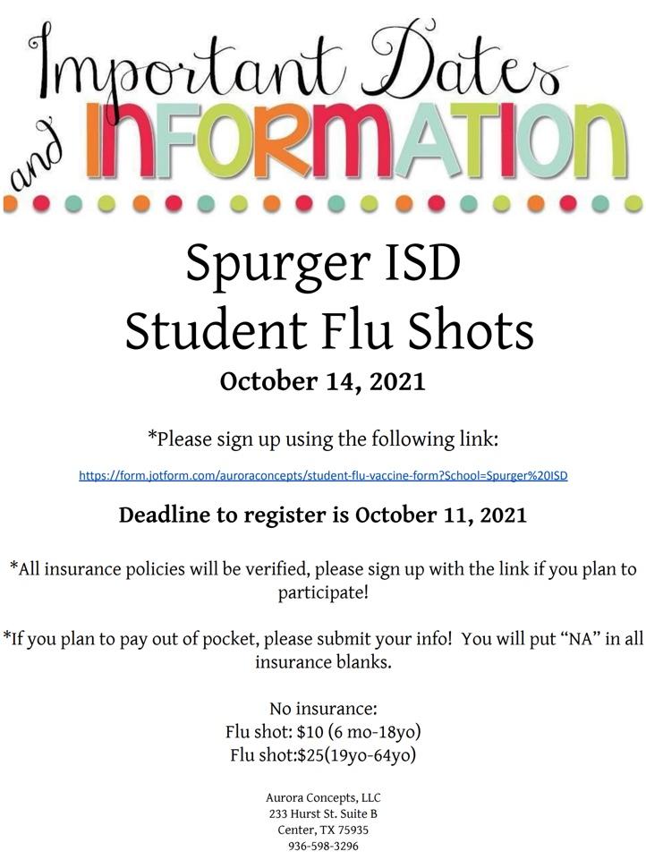 student flu clinic