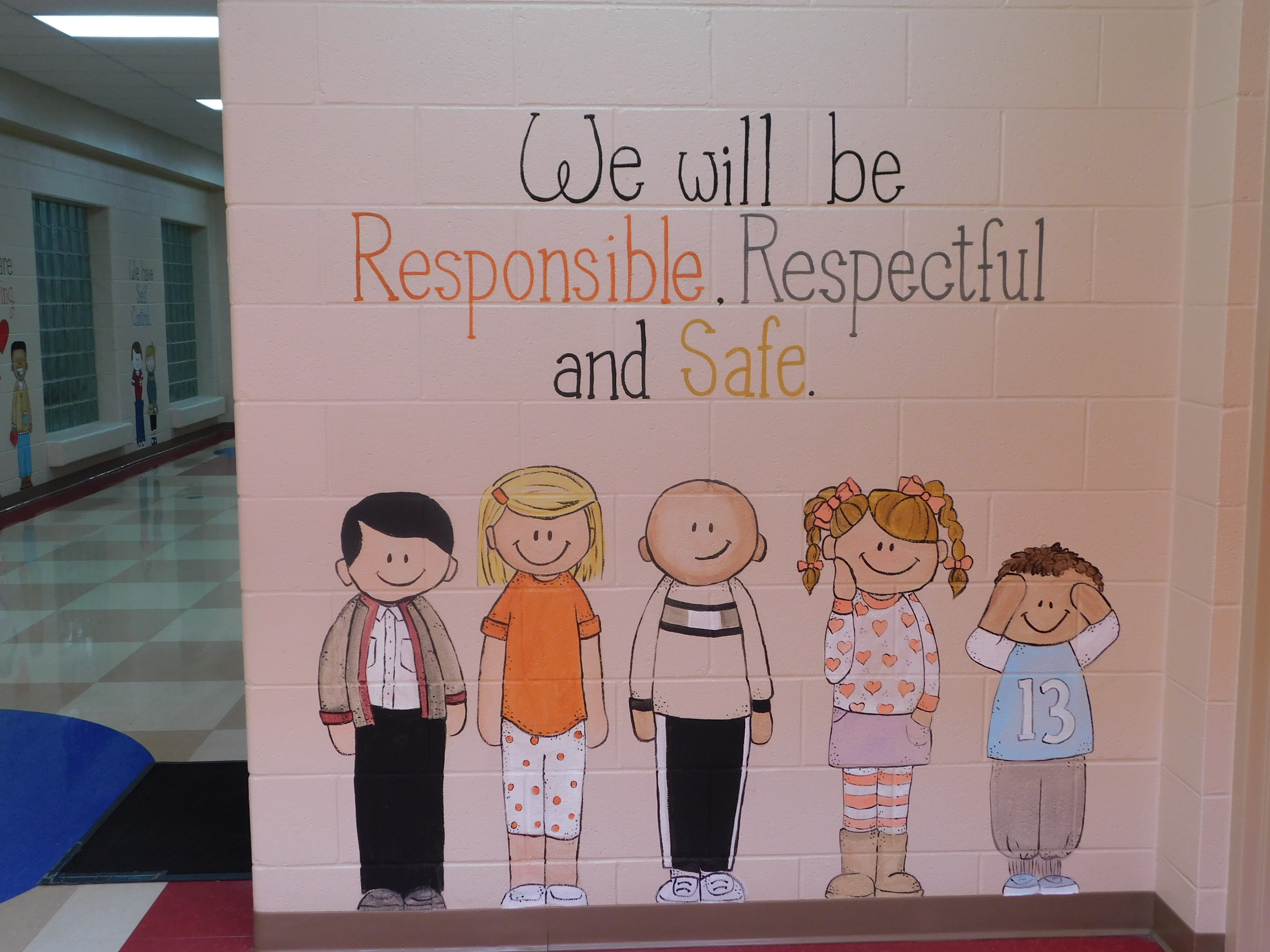 Behavior Expectations: Be Respectful, Responsible and Safe.