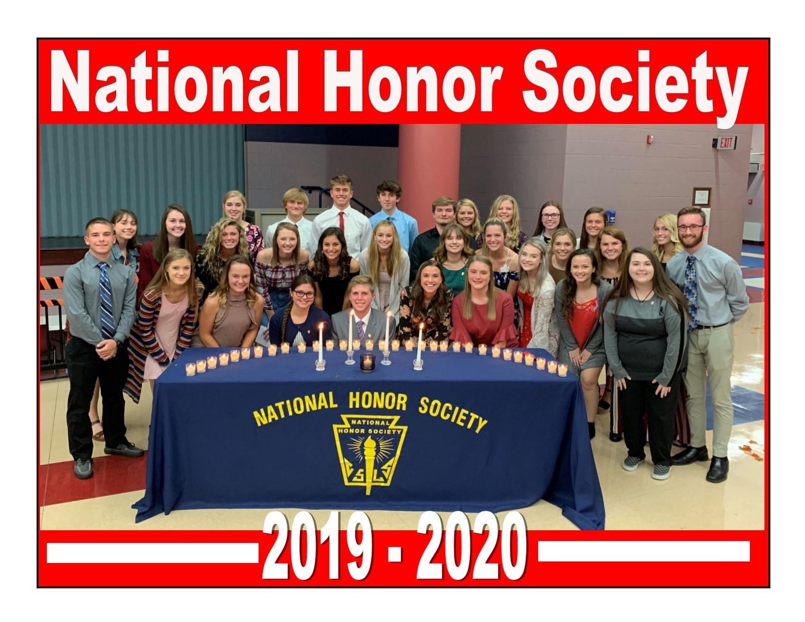 National Honor Society 2019 - 2020