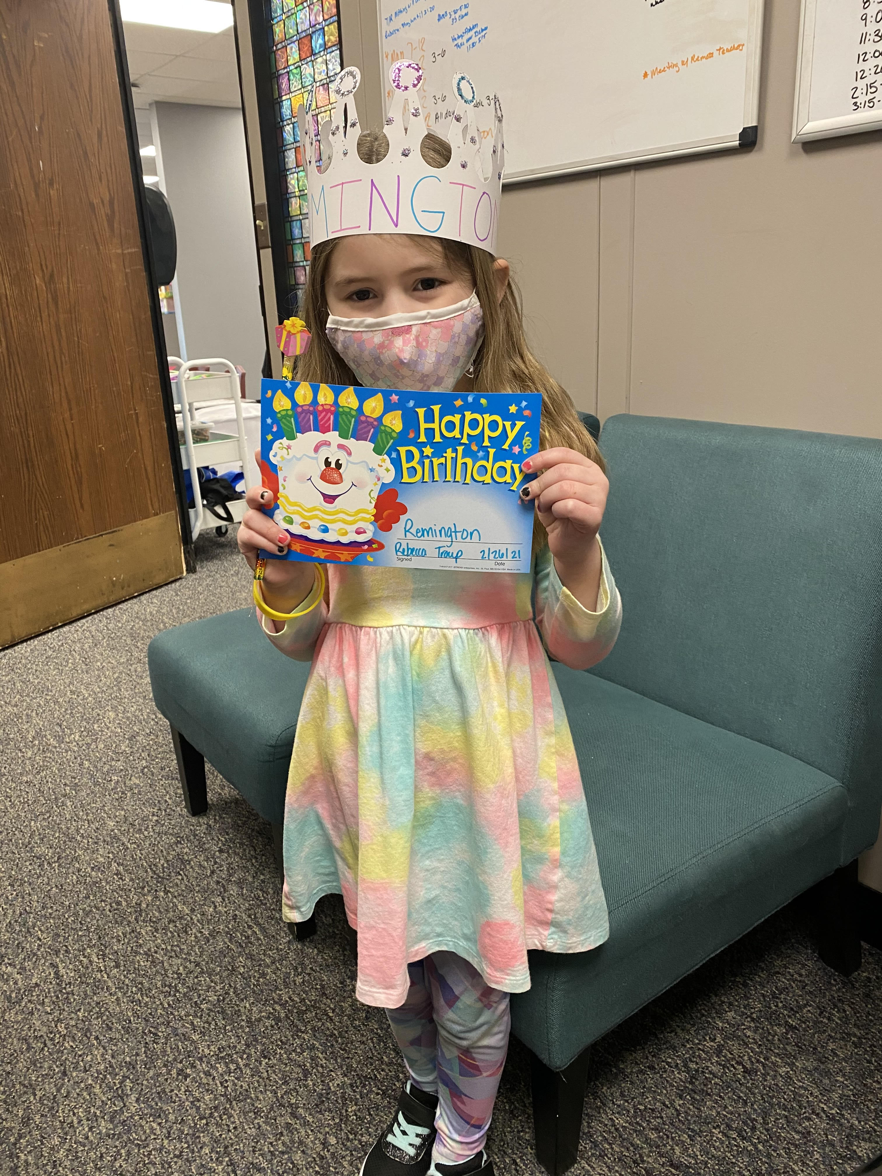 Sending Remington a Happy Happy Birthday!