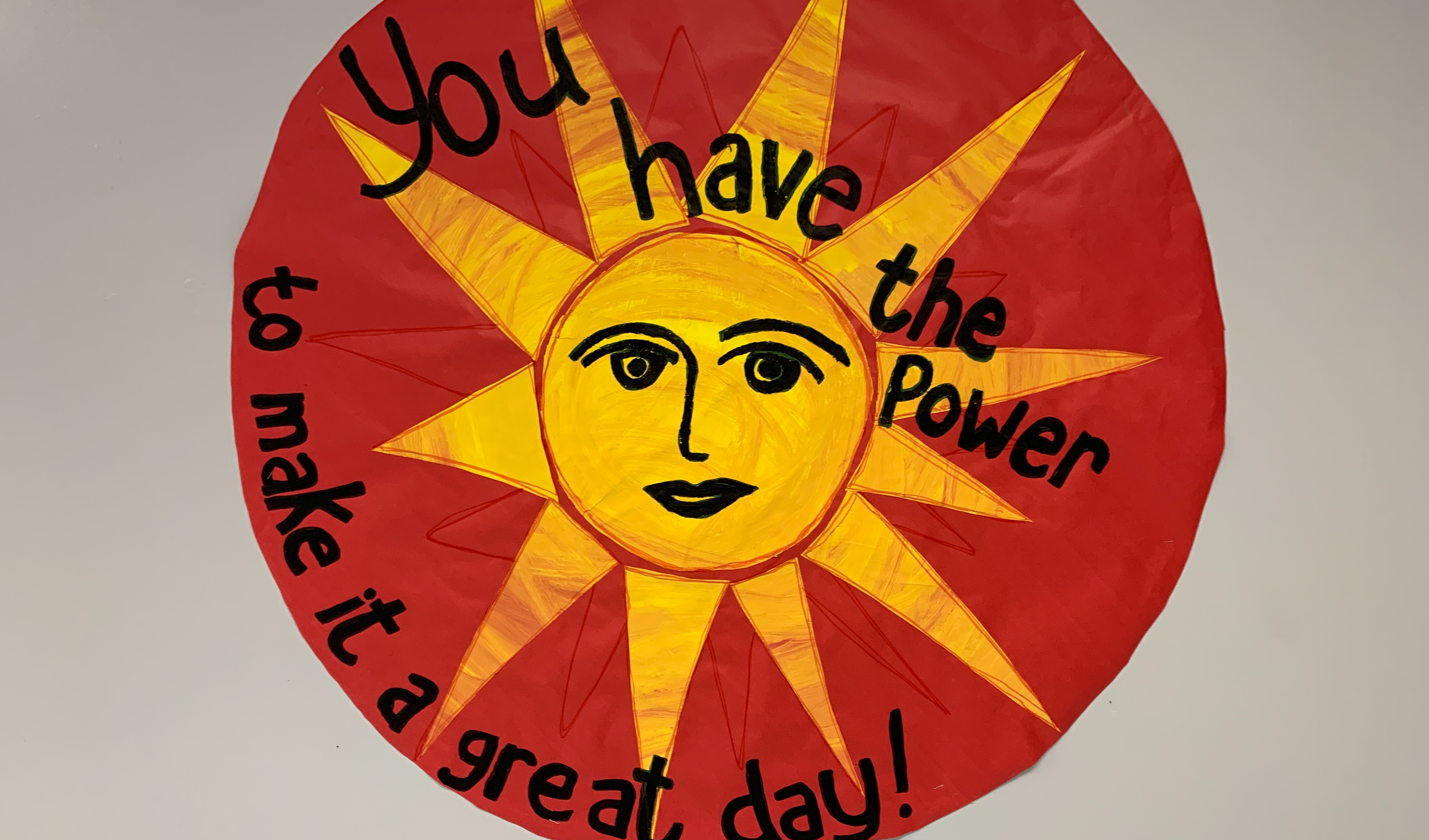 You have the power to make it a great day