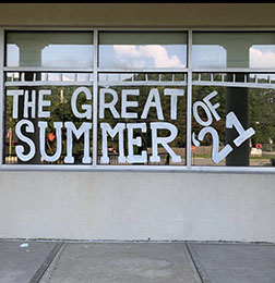 The Great Summer of 2021 Window Painting
