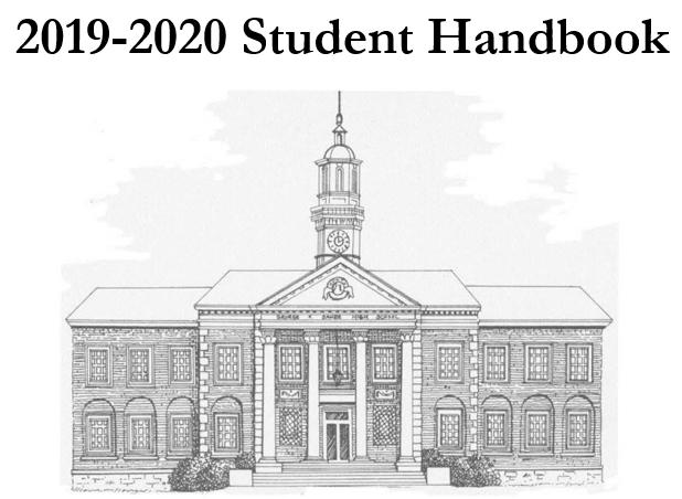 2019 - 2020 STUDENT HANDBOOK