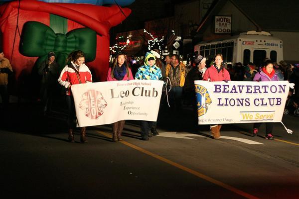 Leo Club activities
