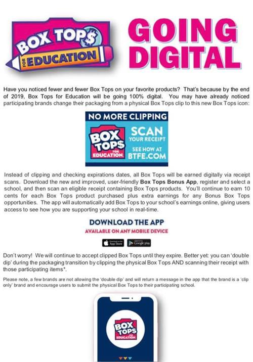 Digital Box Tops