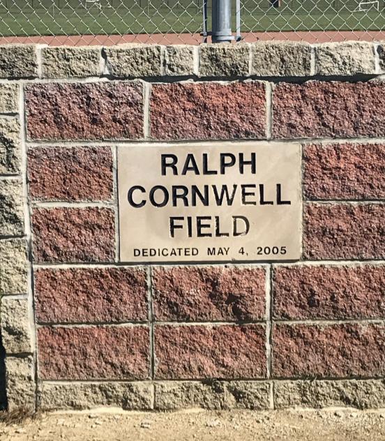 RALPH CORNWELL SOFTBALL FIELD