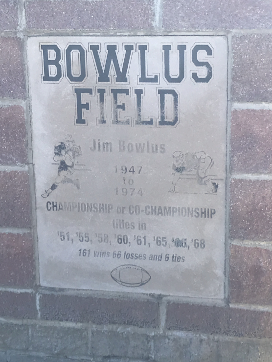 JIM BOWLUS FIELD