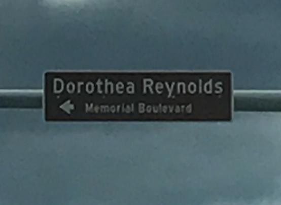 DOROTHEA REYNOLDS MEMORIAL BOULEVARD