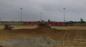 Bowlus Field Construction July 2016