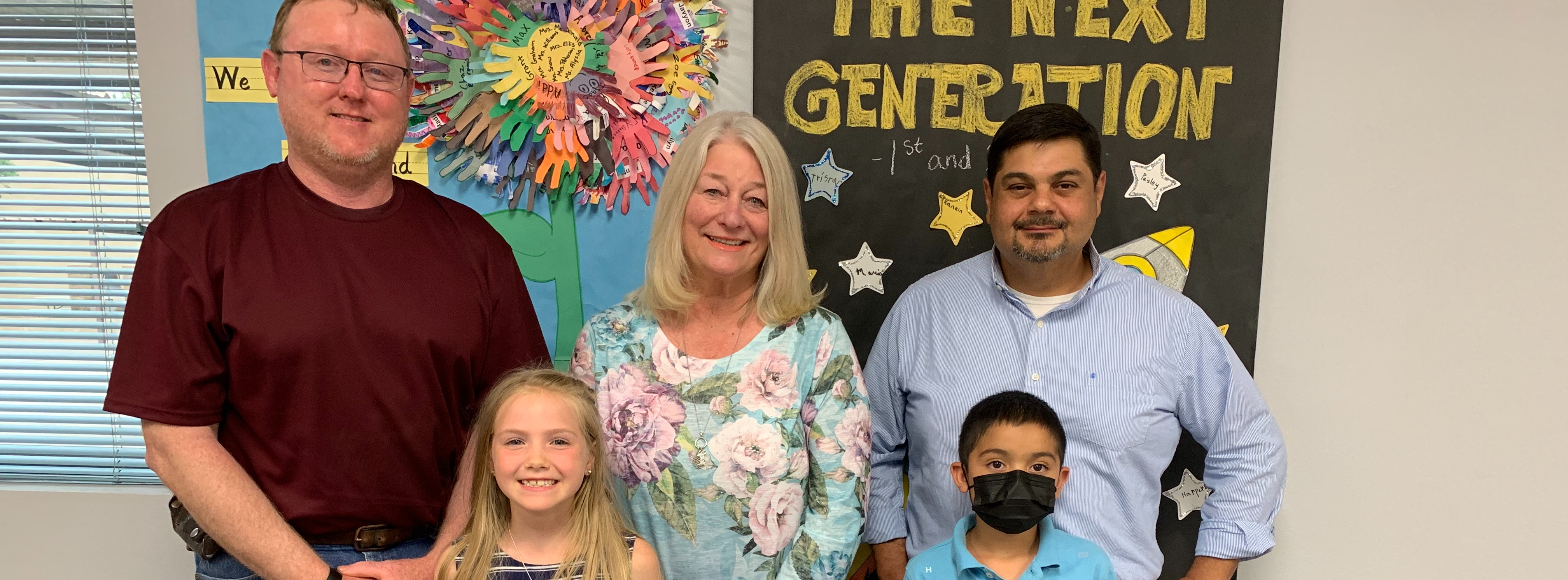 APRIL EMPLOYEE AND STUDENTS OF THE MONTH
