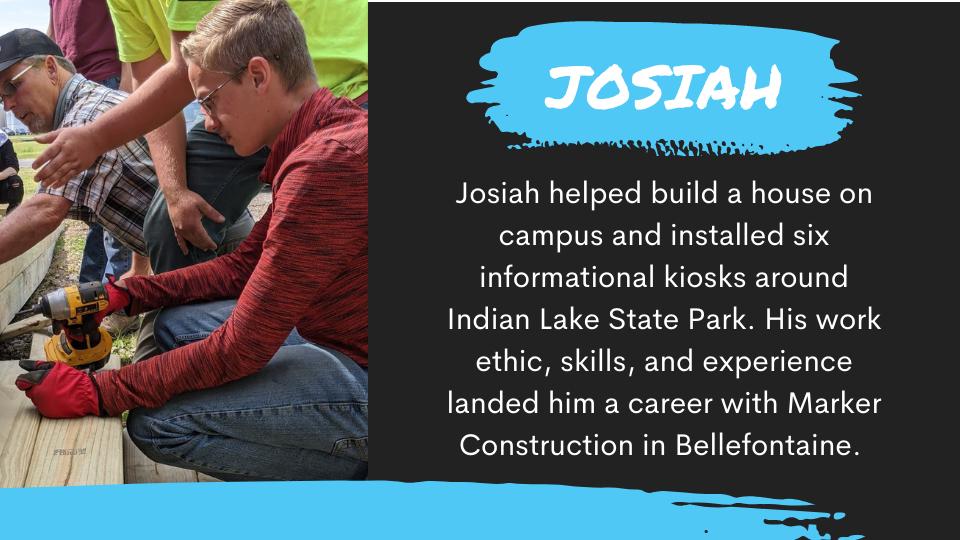 JOSIAH SUCCESS STORY