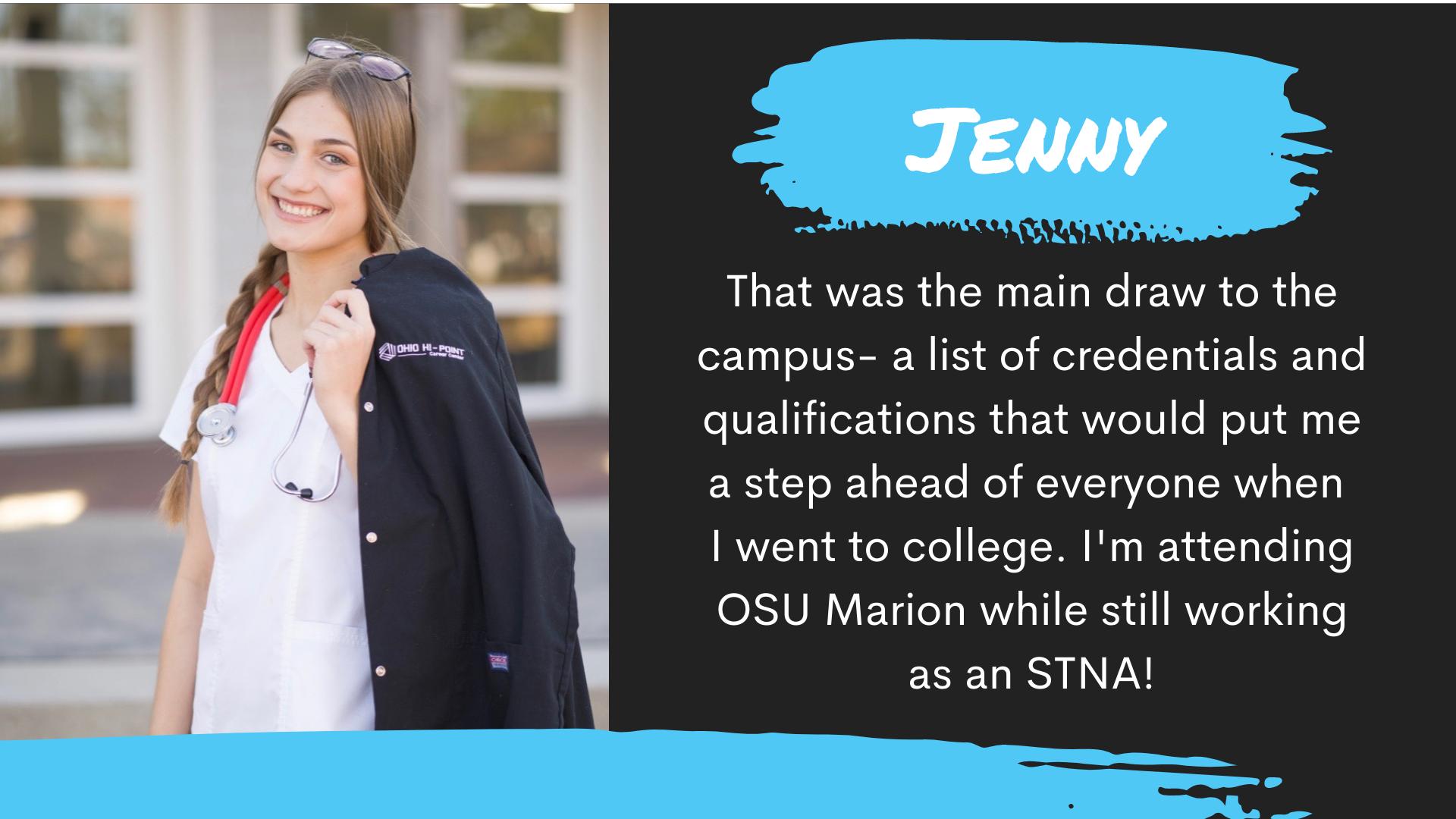 Jenny Success Story