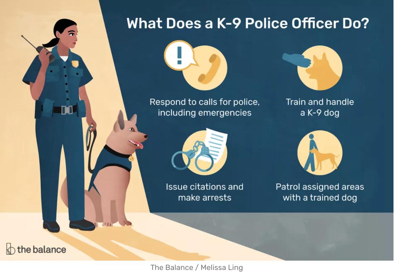 k9 officer job description