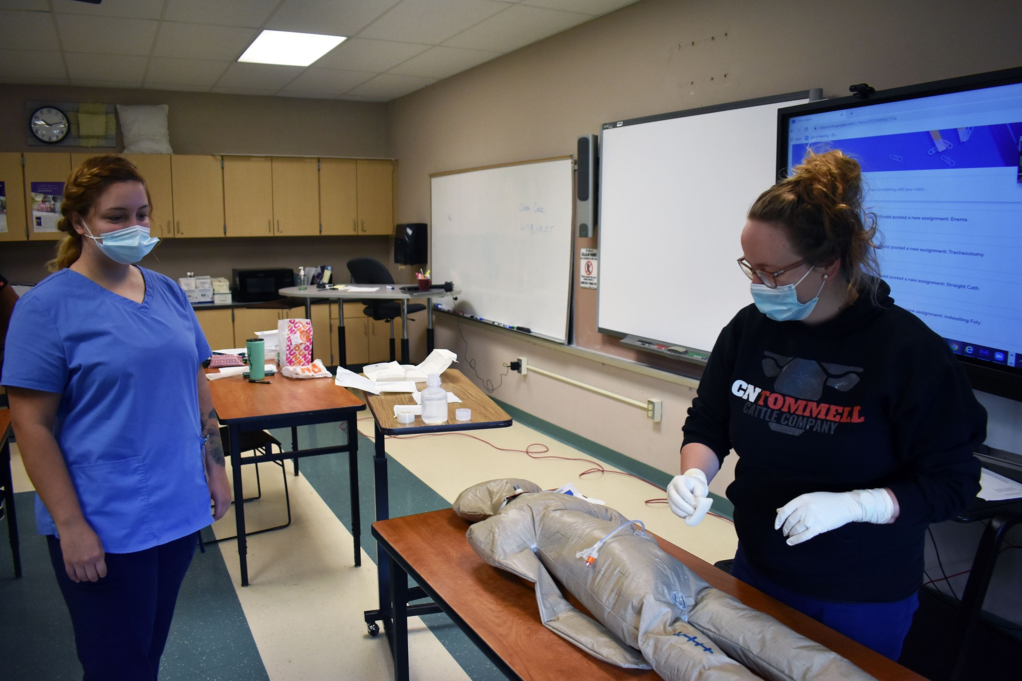 Future LPN Students in Classroom