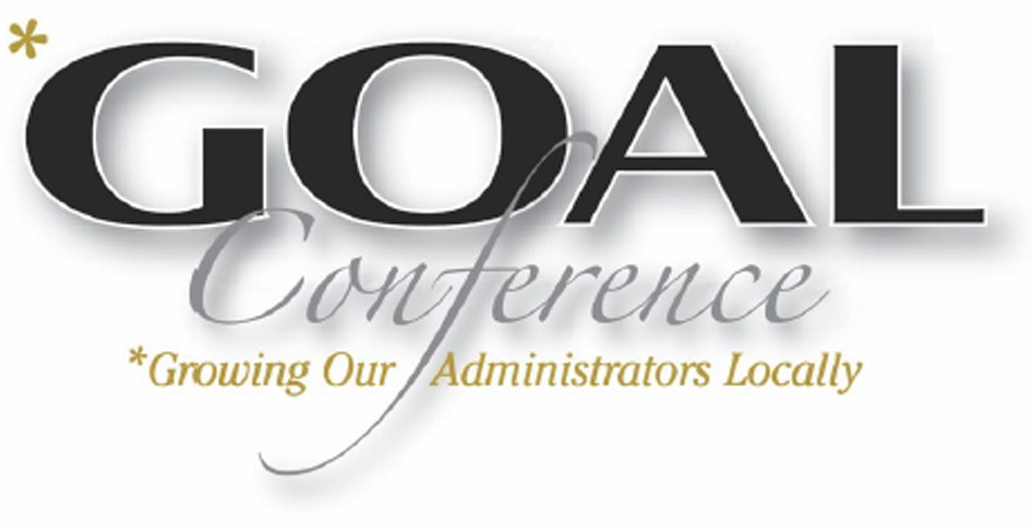 GOAL Conference logo Growing Our Administrators Locally
