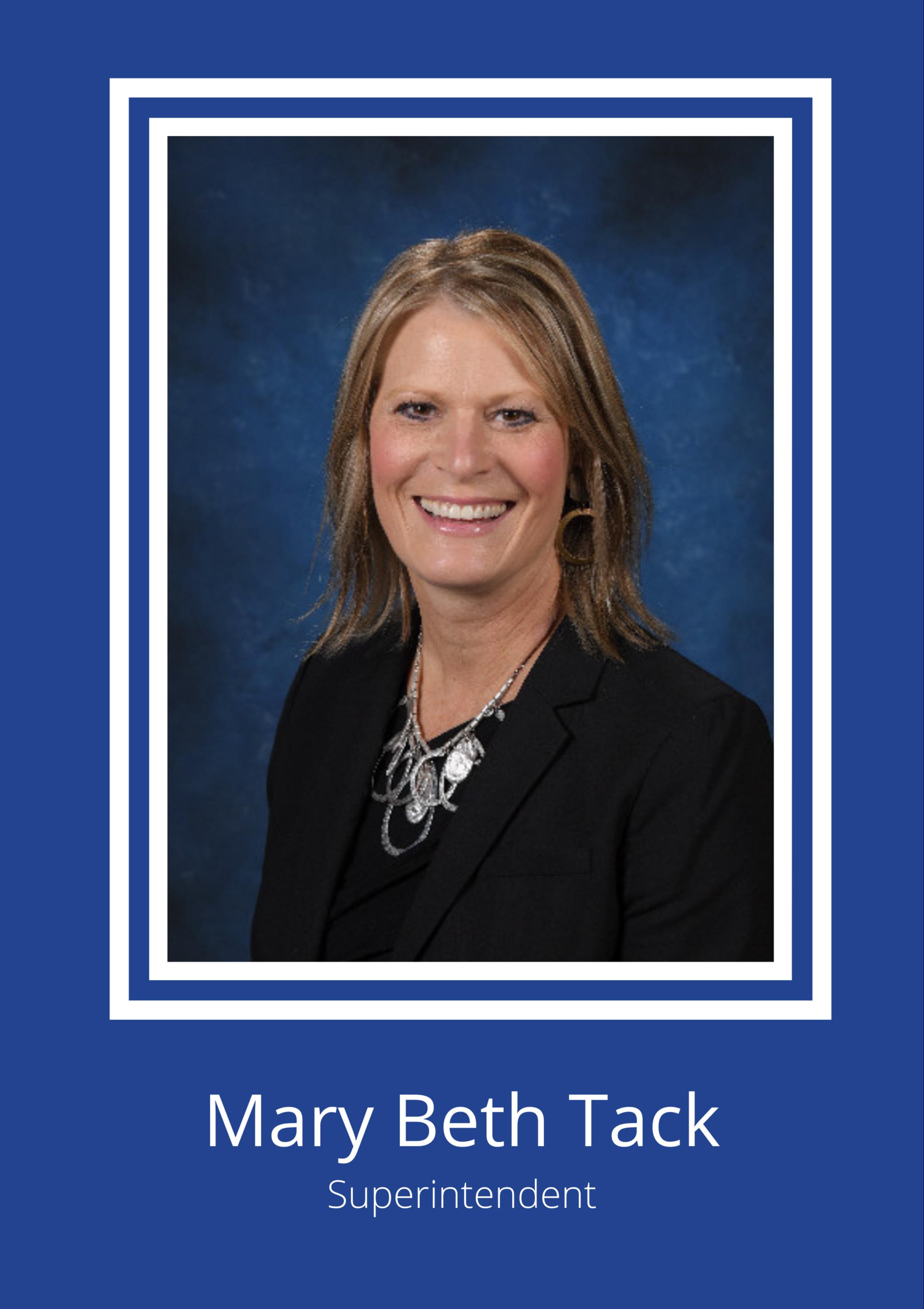 Photo of Mary Beth Tack.