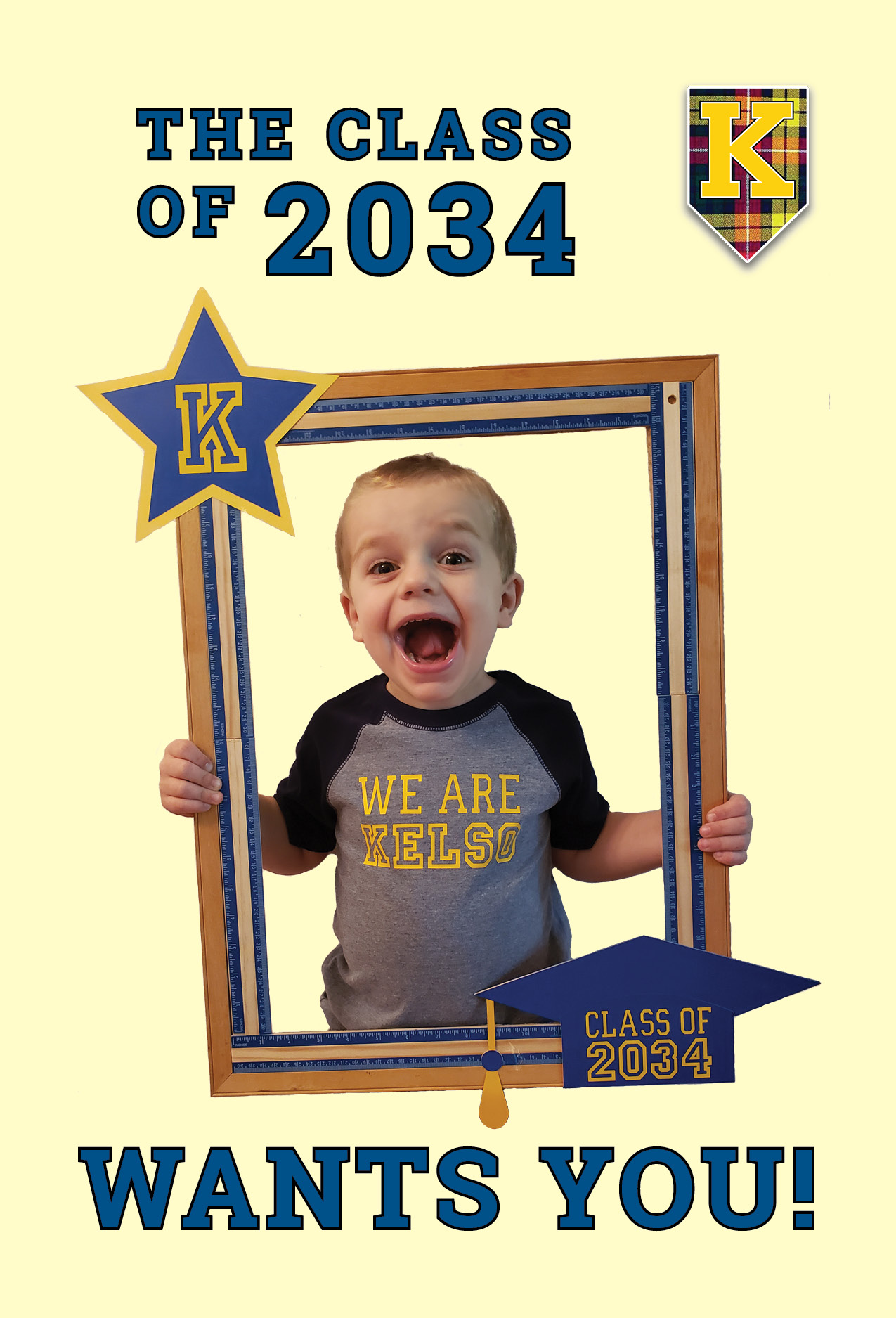 class of 2034 wants you