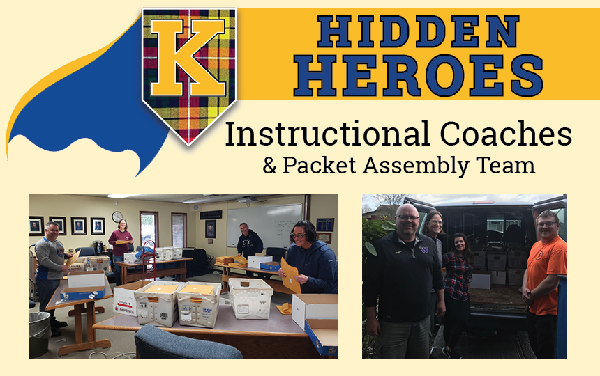 Photos of Instructional Coaches & Packet Assembly Team