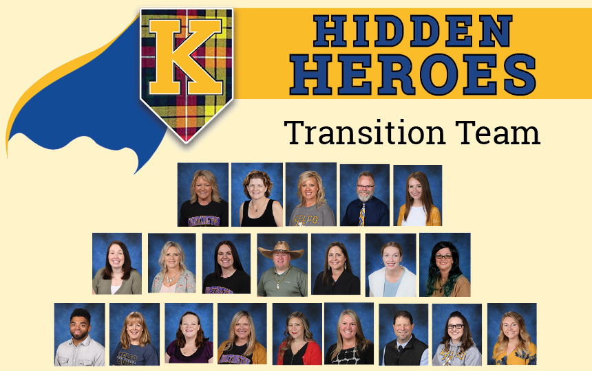 Photos of the Transition Team.