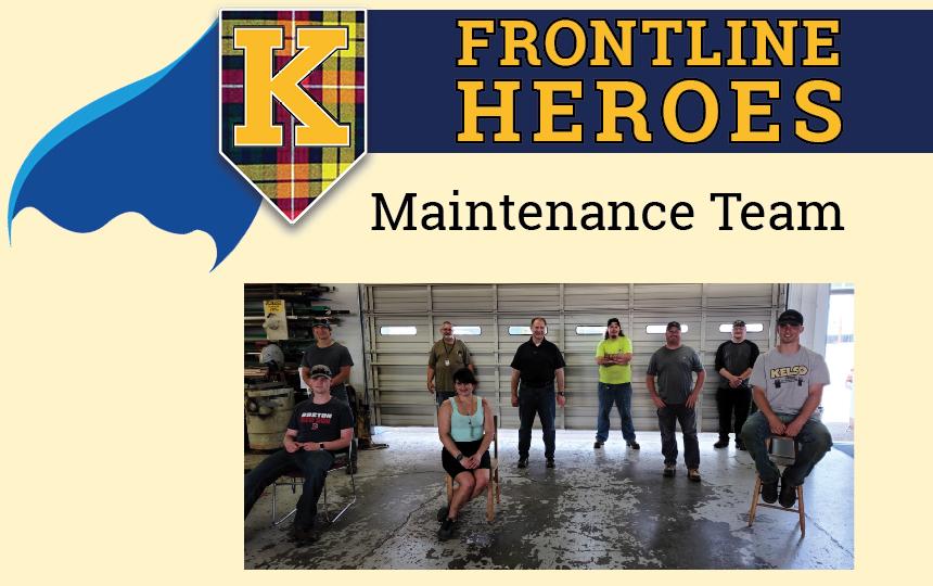 Photos of the Maintenance Team.