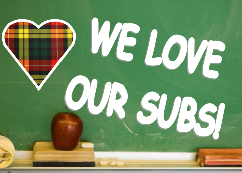 WE LOVE OUR SUBS!