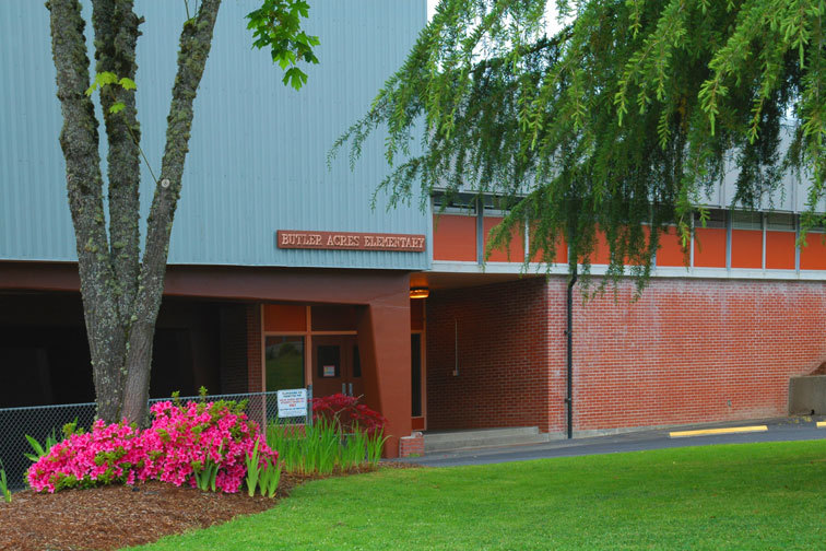 Outside picture of school