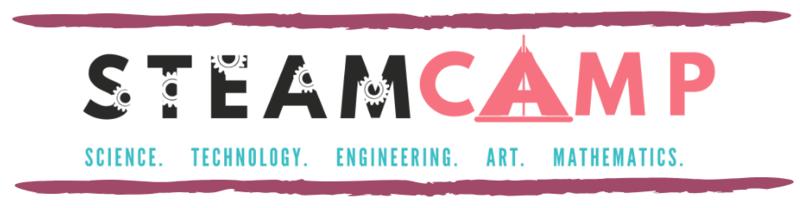 STEAM CAMP - SCIENCE. TECHNOLOGY. ENGINEERING. ART. MATHEMATICS.