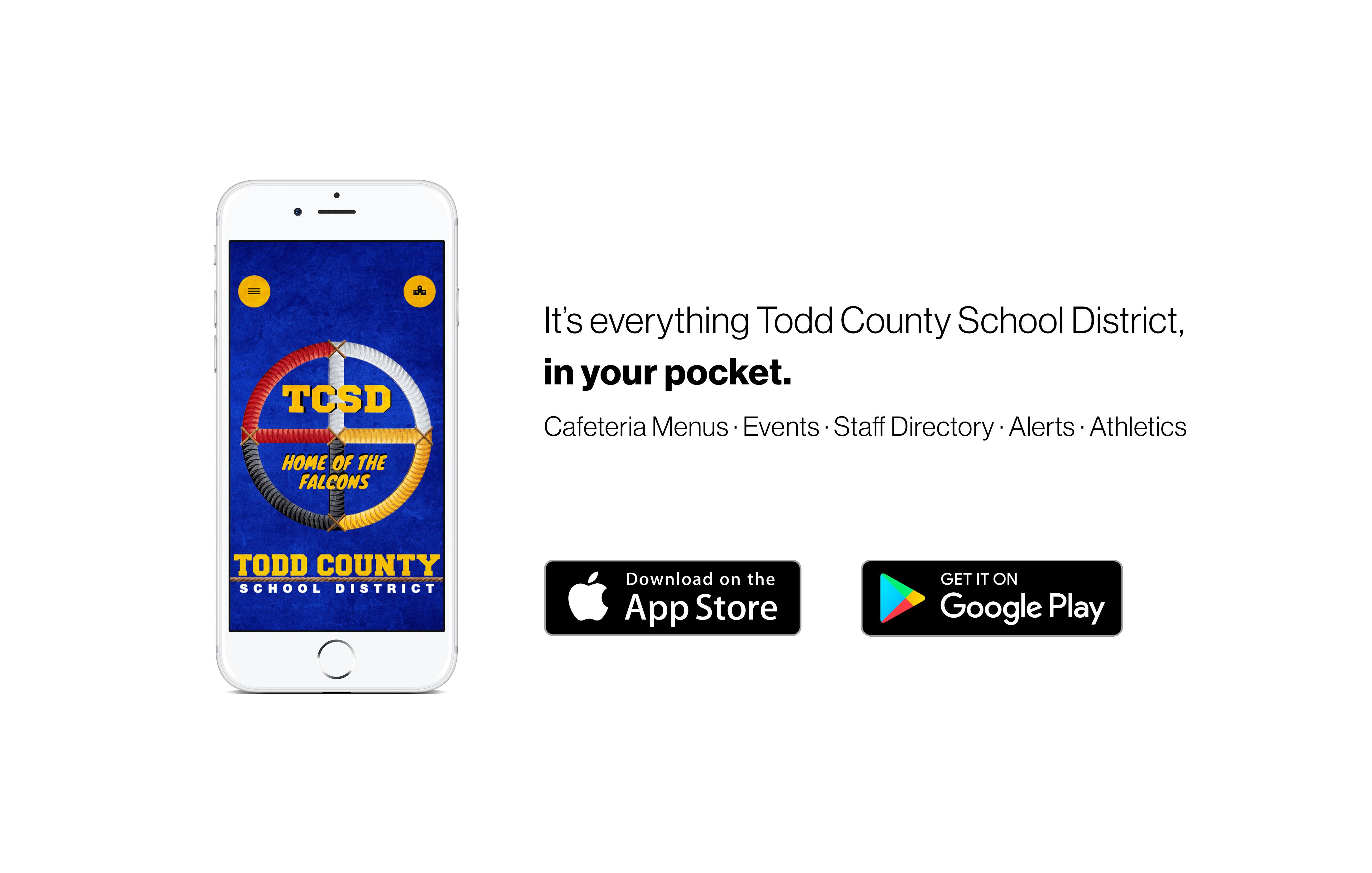 TCSD App Available