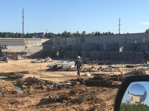 Phase 1 construction