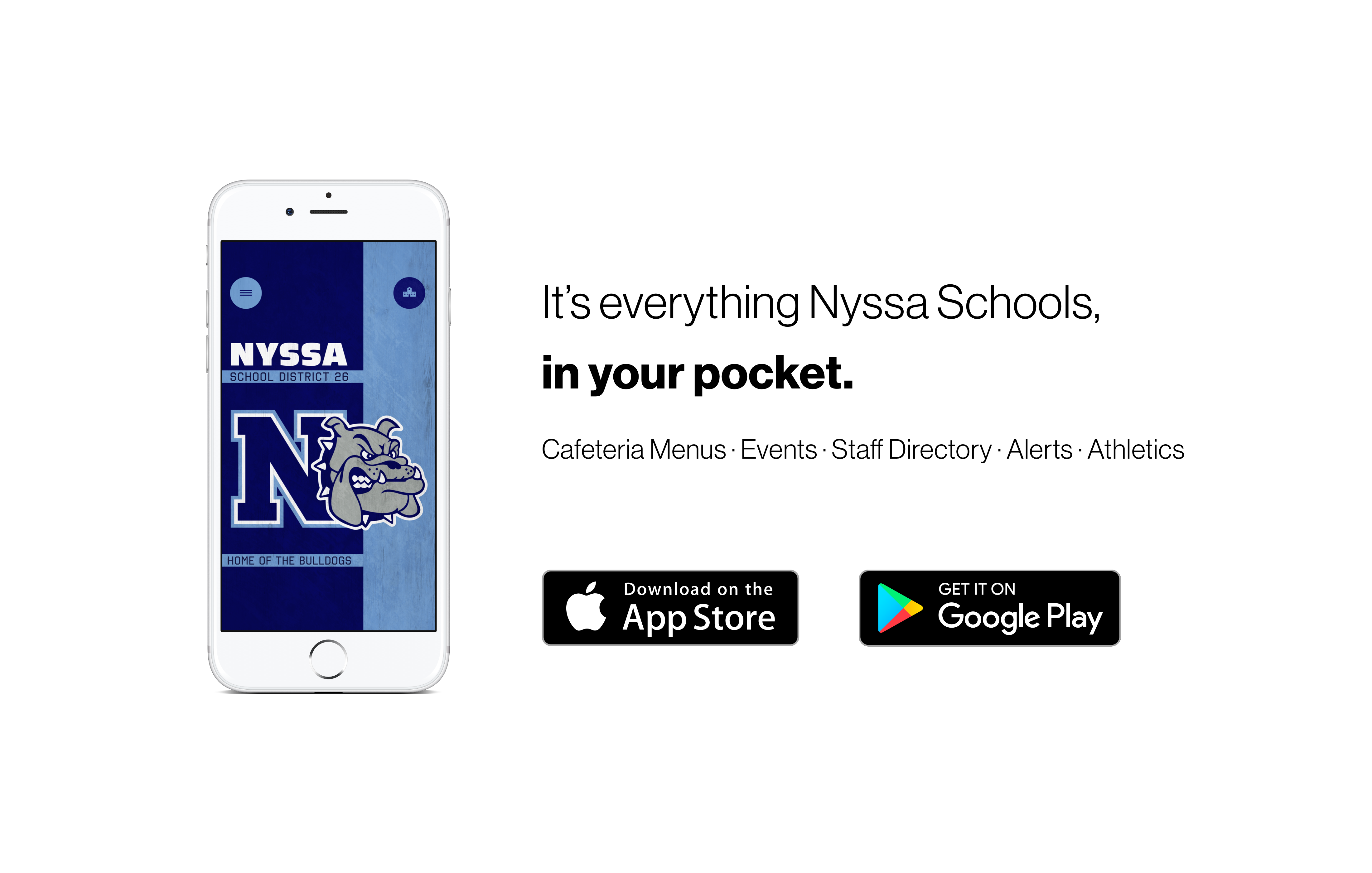 It's everything Nyssa Schools, in your pocket