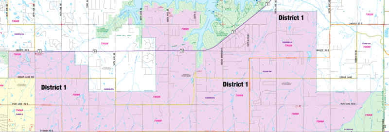 District 1 map