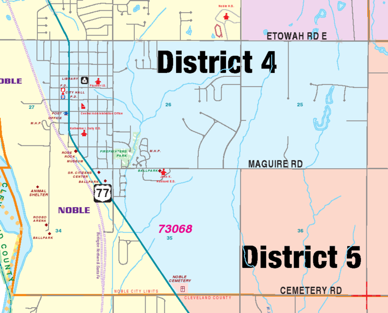 map District 4