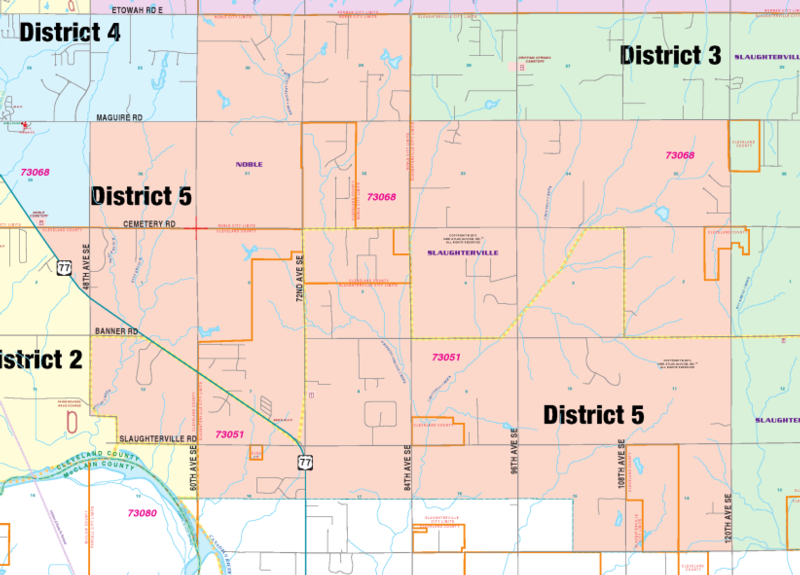 map district 5