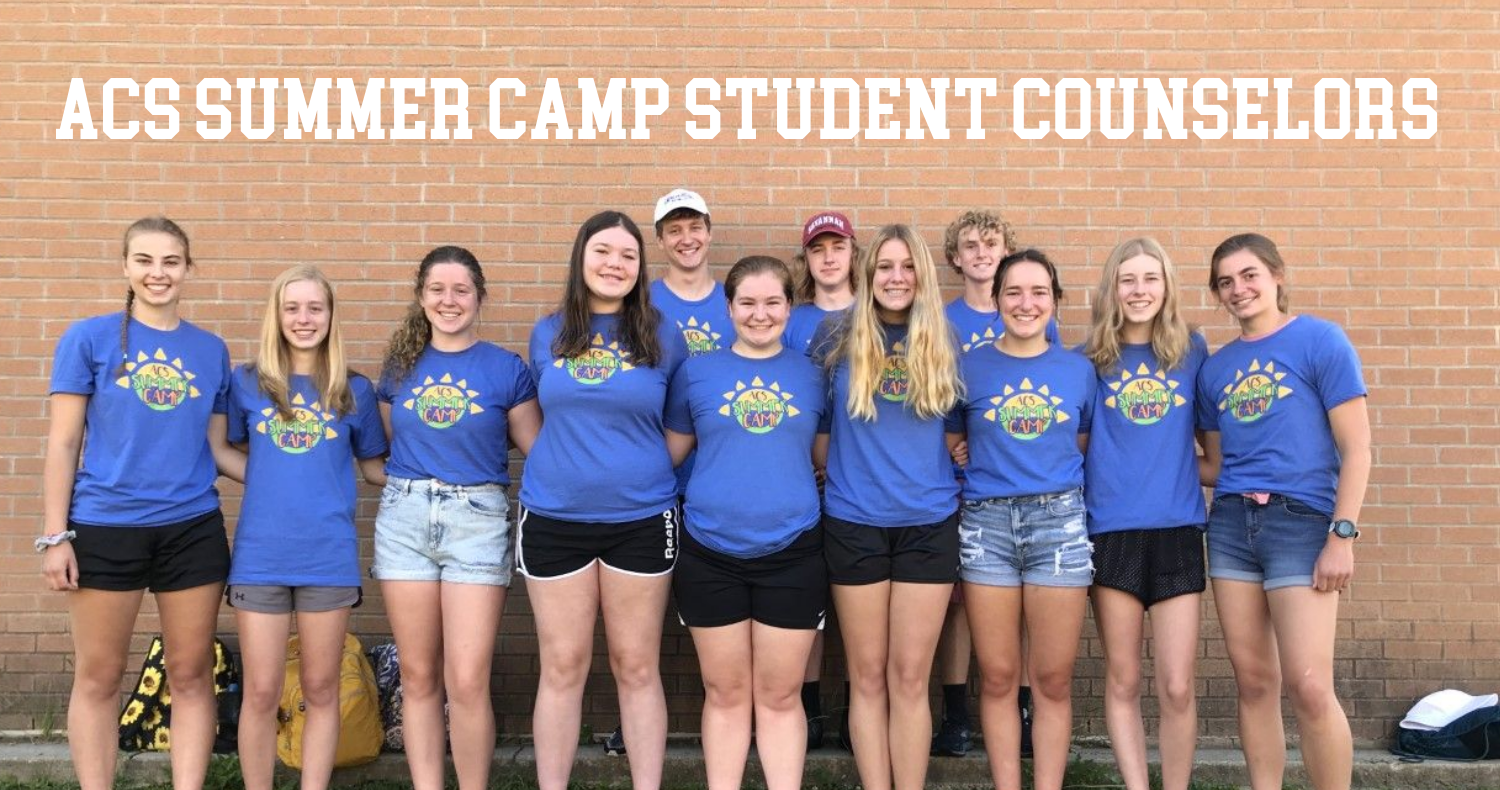 Picture of summer camp 2021 student counselors.