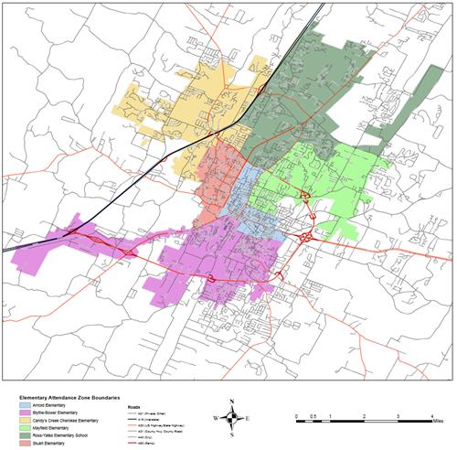 Elementary School Zones 2019