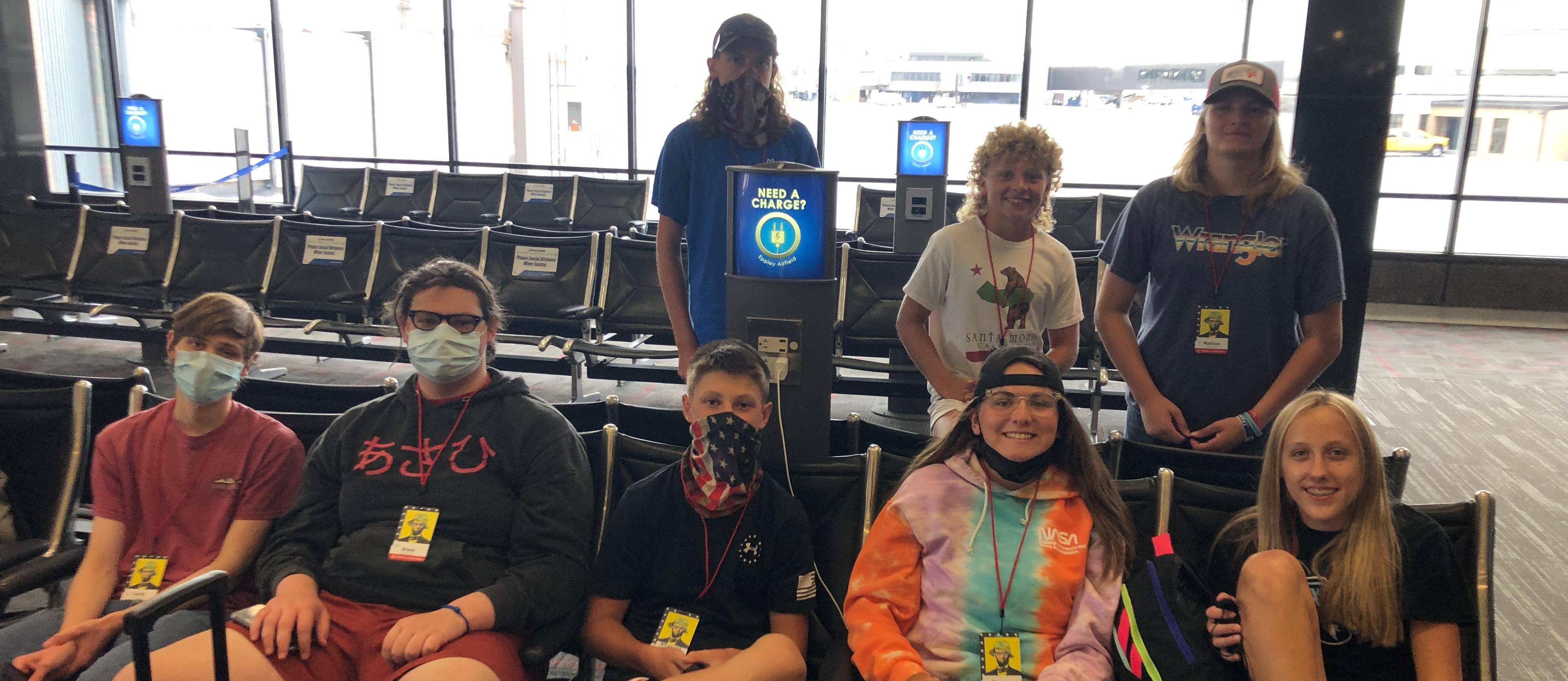 Students traveling to Washington DC