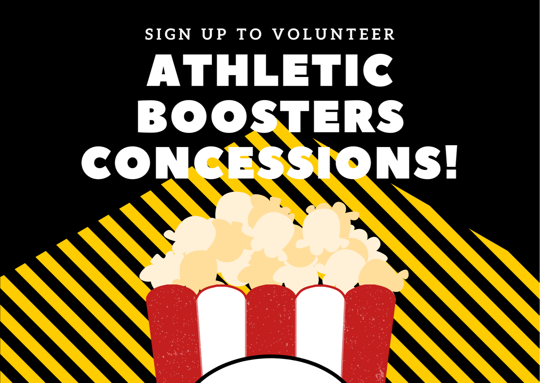 boosters concessions