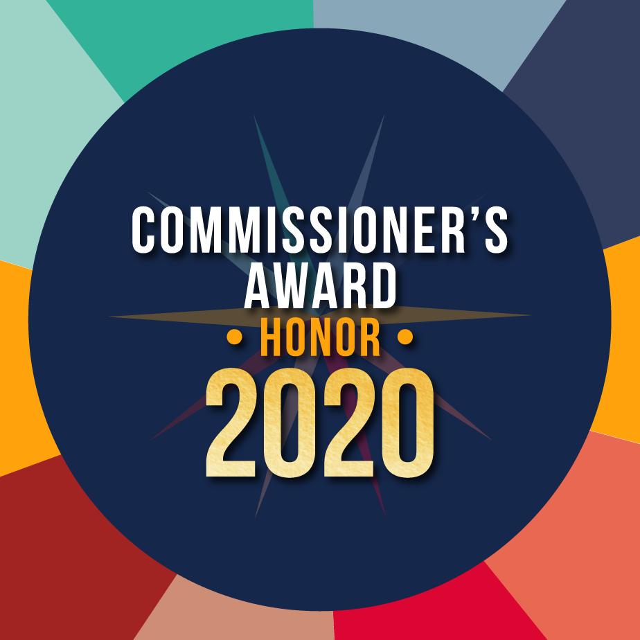 2020 Commissioner Award