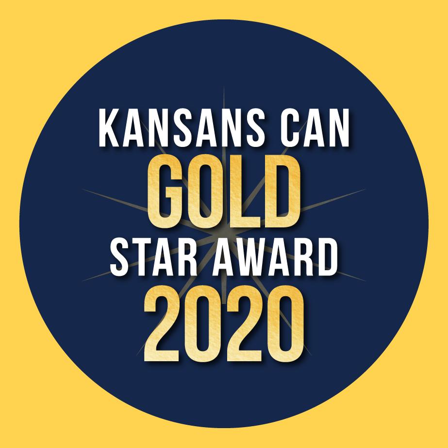Kansans Can Gold Star award