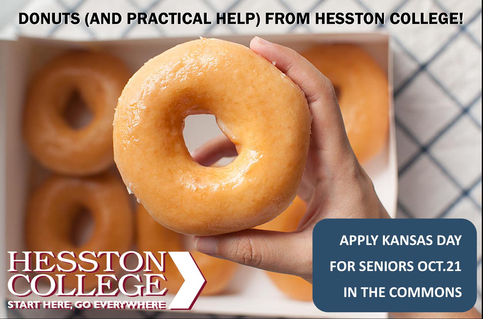 Apply Kansas Day Donuts