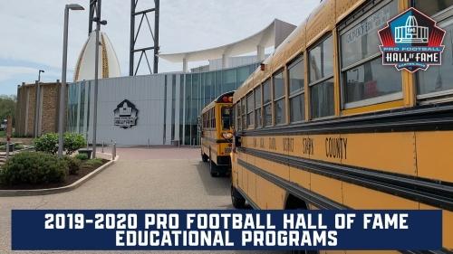 2019-2020 pro football hall of fame educational programs