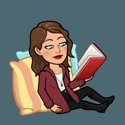 An avatar reading.