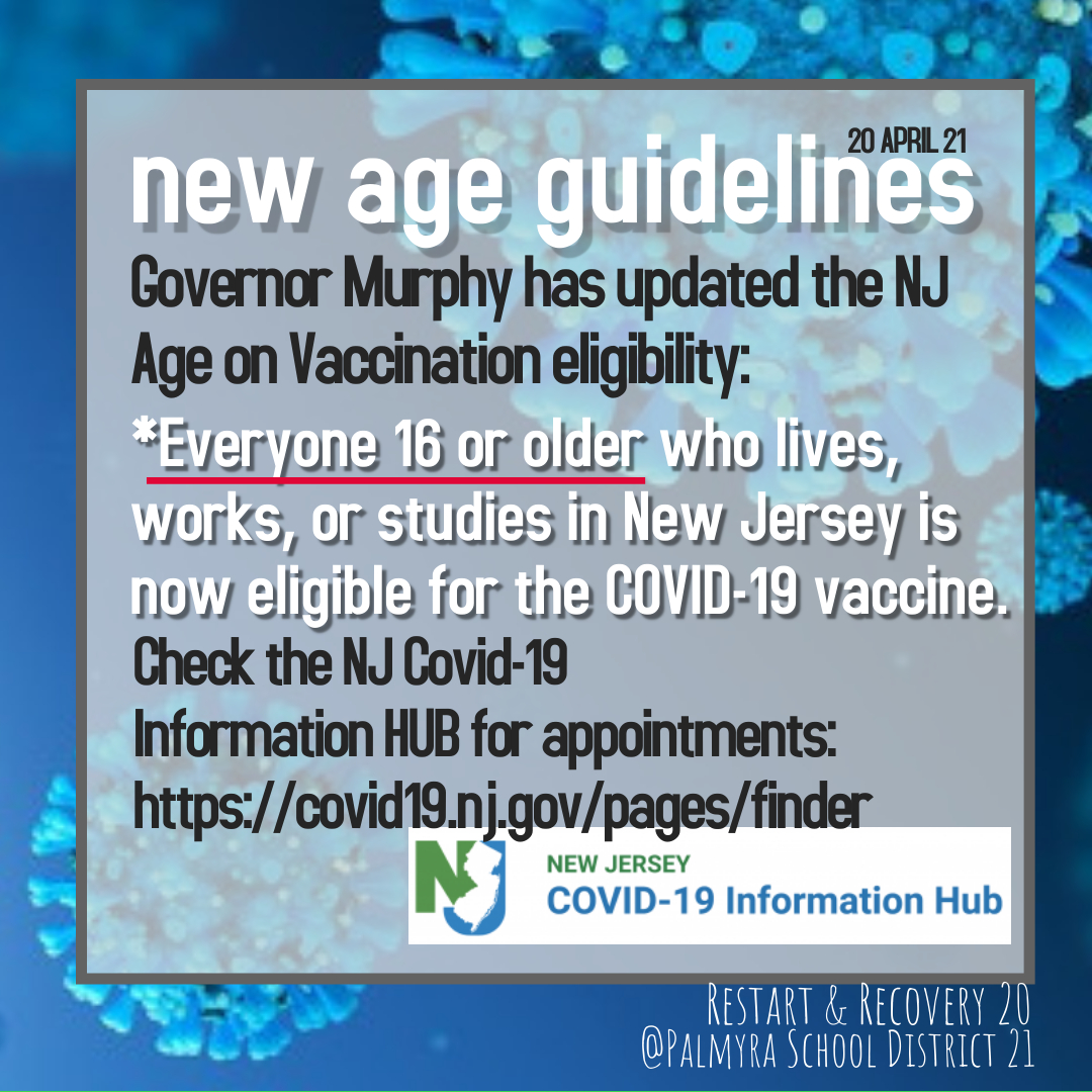state age eligibility update for vaccine