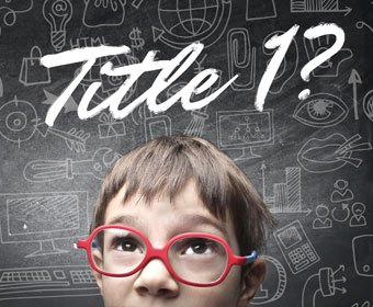 Title 1? graphic with child
