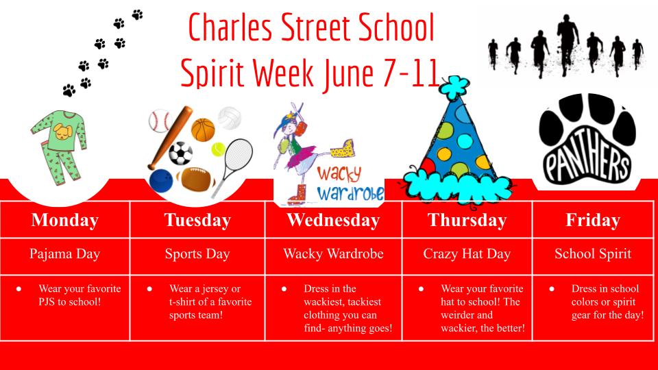 CSS Spirit Week Guide