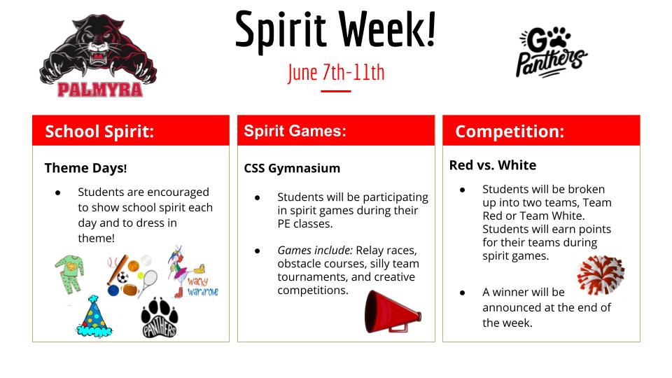 spirit week at css