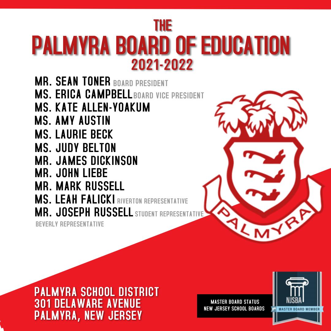 2021 Board of Education list