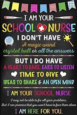 i am your school nurse